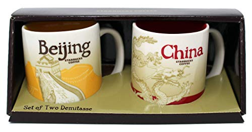 Starbucks Global Icon Mini Series Demitasse Becher, Peking und China