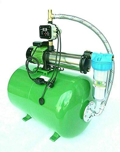 Tazado !!! Premium Hauswasserwerke mit Kreiselpumpe 10 Bar Druck 2,2 KW + 50L Stahlkessel+ elektronische Steuerung +Vorfilter !!!