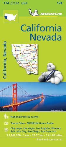 Mapa Zoom. California - Névada (Mapa Zoom Michelin)