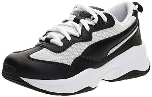 Puma Damen Cilia Niedrig, Schwarz Black White-Gray Violet Silver, 38.5 EU