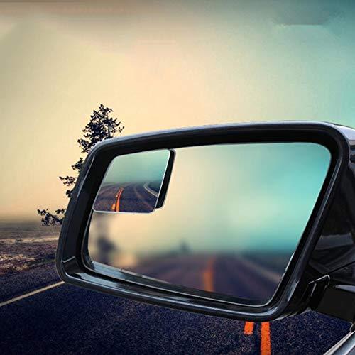 LCHENX2 Stück Verstellbarer Auto Toter Winkel Spiegel, 360 Grad Weitwinkelrückspiegel für Alle Universalfahrzeuge