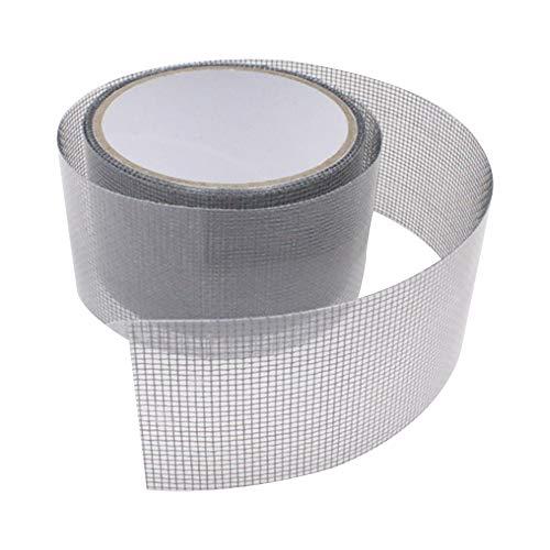 3-Layer Strong Adhesive & Waterproof Fiberglass Covering Wire mesh Repair for Window Screen and Screen Door tears Holes Screen Repair kit