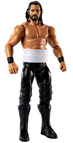 WWE Seth Rollins Basic Series #109 Action Figure in 6-inch Scale with Articulation & Ring Gear