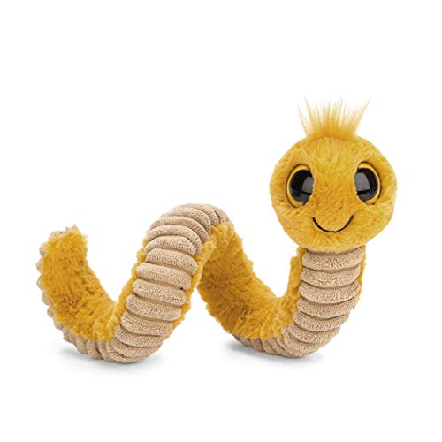 Jellycat Wiggly Worm Stuffed Animal Yellow 12 inches