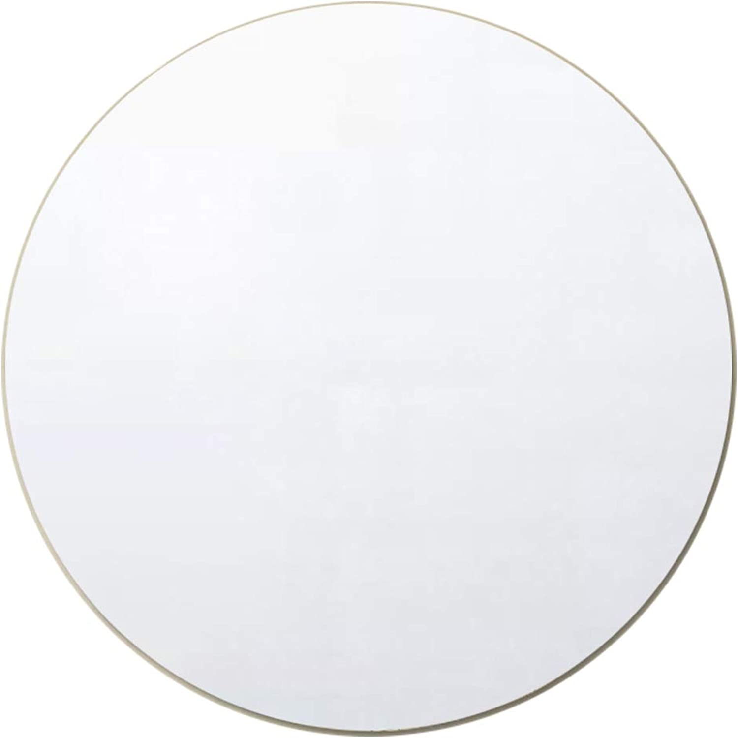 Vanity Mirror for Wall Simple Frameless Round Wall Hanging Mirror 40CM (16Inch) for Bathroom Shave Shower Decorative Makeup Mirror