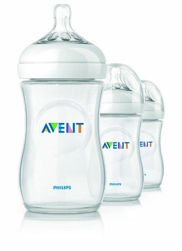 Philips AVENT 9 Ounce BPA Free Natural Polypropylene Bottles,3-Pack Kids, Infant, Child, Baby Products bébé, nourrisson, enfant, jouet