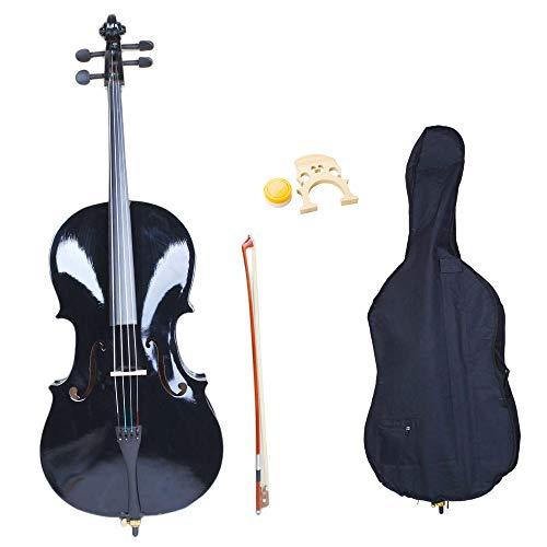 Acoustic Cello Wood Color Beautiful Varnish Finishing