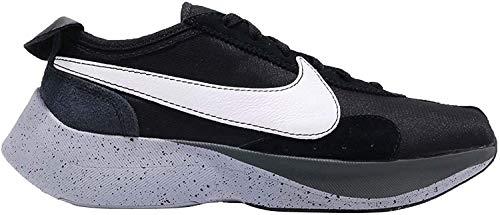 Nike Moon Racer Herren Running Trainers AQ4121 Sneakers Schuhe (UK 10 US 11 EU 45, Black White Wolf Grey 001)