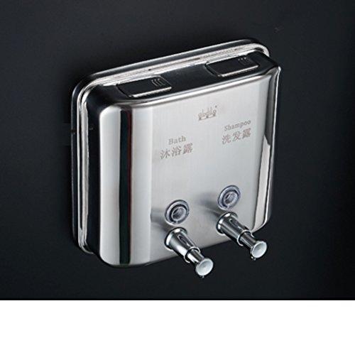 Edelstahl 304,Seifenspender,Dusche dispenser,Home Hotel Dusche gel shampooflasche Gel-duschkabine Shampoo box-D