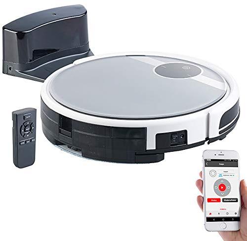 Sichler Haushaltsgeräte Robot de vacío: Robot aspirador Wi