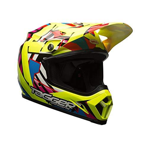 BELL Helmet Mx-9 Mips Double Trouble, Gelb, Größe M