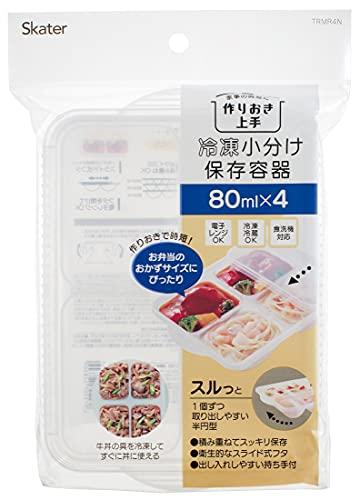スケーター 離乳食 保存容器 冷凍 小分けトレー 4ブロック ベビー TRMR4N-A