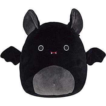 CQCYD 8/12in Plush Toy The Bat Soft Plush Stuffed Animals Halloween Cute Mini Doll,Super Pillow Forest Party for Kids Girl Boy Holiday Birthday Christmas Creative Gift  Black 8 inch