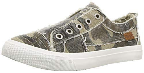 Blowfish Malibu womens Play Sneaker, Natural Camo, 7.5 US