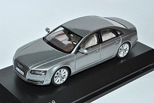 Spark A-U-D-I A8 D4 4H Silber Facelift 2014 Modell Ab 2009 1/43 Modell Auto
