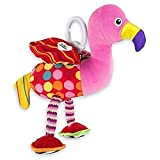 Lamaze Baby Spielzeug 'Fiona, der Flamingo' Clip & Go - hochwertiges Kleinkindspielzeug - Greifling...