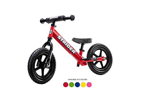 Cheap Strider - 12 Sport Balance Bike, Ages 18 Months to 5 Years, Red