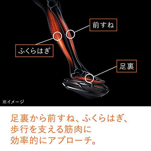 シックスパッドフットフィット(SIXPADFootFit)MTG【メーカー純正品[1年保証]】歩く力を鍛える※ジェルシート不要IF-FF2310Fブラック