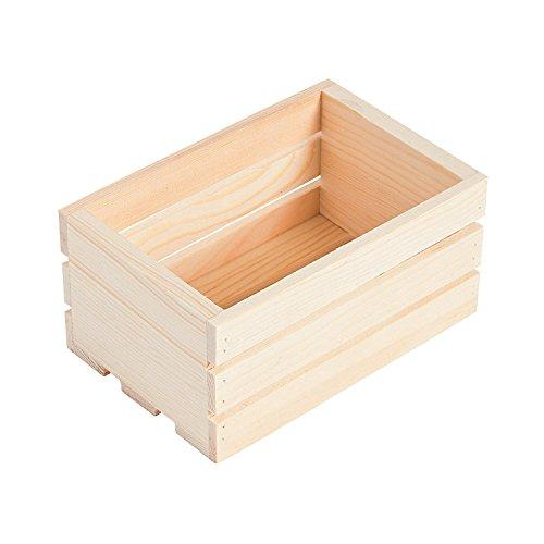 6 Wood Mini Crates