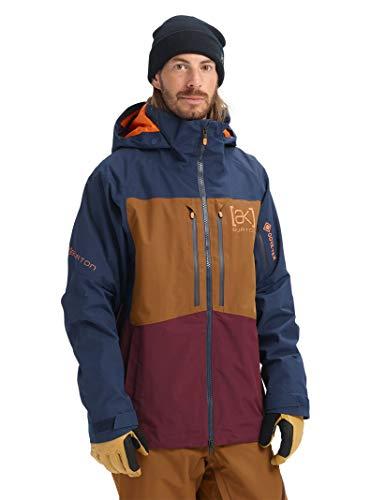 Burton Mens Ak Gore-Tex Swash Jacket, Dress Blue/Monks Robe/Port Royal, Small