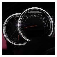 車の装飾ストリップステッカー にとってBMWのミニクーパーS JCWクラブマンカントリーF54 F55 F56 F60カーシャイニークリスタルインテリアステッカースタイリングアクセサリー用 (サイズ : 6)