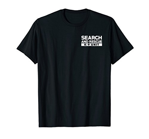 K9 Thin Orange Line Search & Rescue SAR K-9 Team T-Shirt