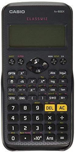 Casio Calculadora Científica Fx-82ex Classwiz, Pequeño, Negro
