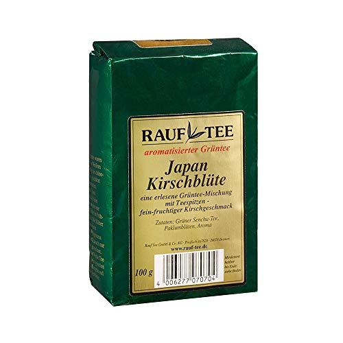 Rauf Tee Aromatisierter Grüntee- Japan Kirschblüte- 2x100g
