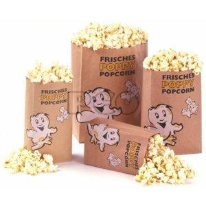 50 Popcorn Tüten Poppy Öko Gr. 4 - Xtra-Gross