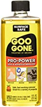 Goo Gone Pro Power Adhesive Remover - 8 Ounce - Use on Silicone, Caulk, Contractor's Adhesive, Tar, Adhesive, Grease, Gum, Decals