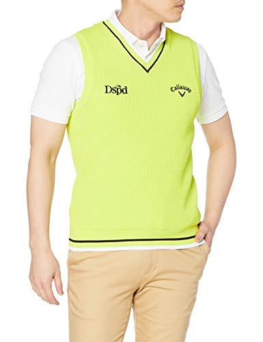 [キャロウェイ] [メンズ] セーターベスト (ロゴ・撥水セーター) / 241-1119501 / ゴルフ 130_ライトグリーン M