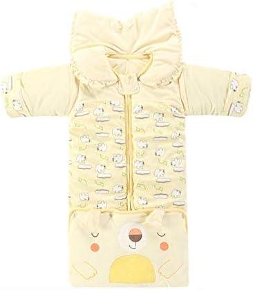 WTFYSYN Saco de Dormir Infantil con piernas,Saco de Dormir c/álido para beb/és edred/ón antipatadas en Invierno-D/_0-3 a/ños Acolchado de algod/ón para ni/ños y ni/ñas de 0-1-2-3-6 a/ños