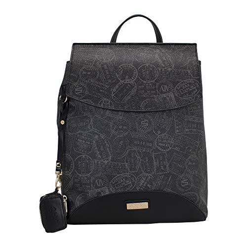 ALVIERO MARTINI ALV Zaino-backpack by donna Nero- 27X35X14