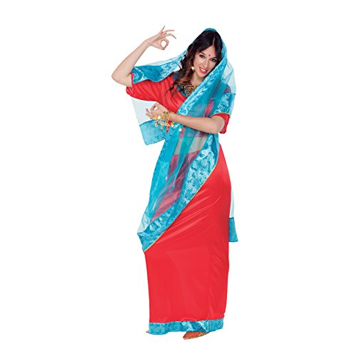 Aptafêtes–cs926286/M–Disfraz Bollywood Dama–Talla M