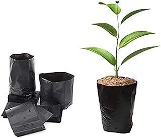BoBoHome 500Pcs Pots De Semis Sacs De Plantation Écologiques Sac De Pépinière Plante Grandir Sacs en Plastique Pochette po...