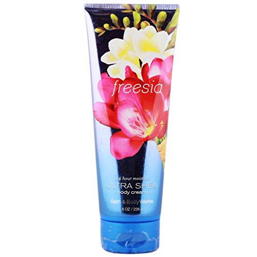 Bath & Body Works Bath and Body Works Ultra Shea Cream Freesia 8 oz / 226 g