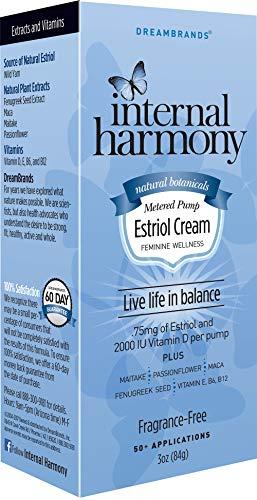 Internal Harmony Estriol Cream with Vitamin E, B6, B12, and 2000IU Vitamin D