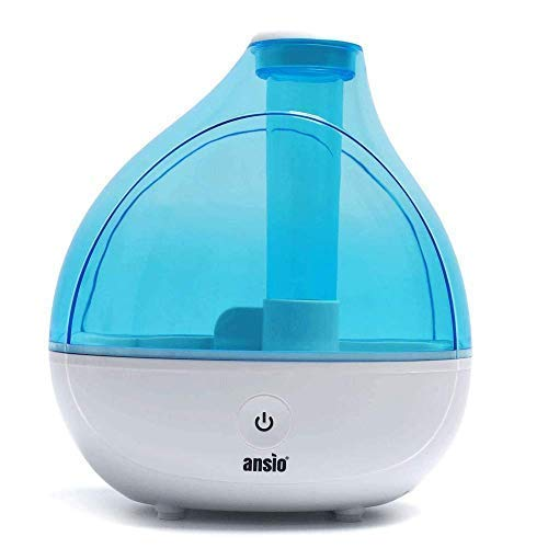 ANSIO Ultrasonic Cool Mist Humidifier 1500 ml, with Up to 16 Hours...