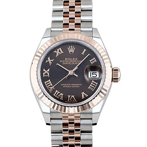 ロレックス ROLEX デイトジャスト 279171 チョコレートローマ文字盤 腕時計 レディース (W208896) [並行輸入品]