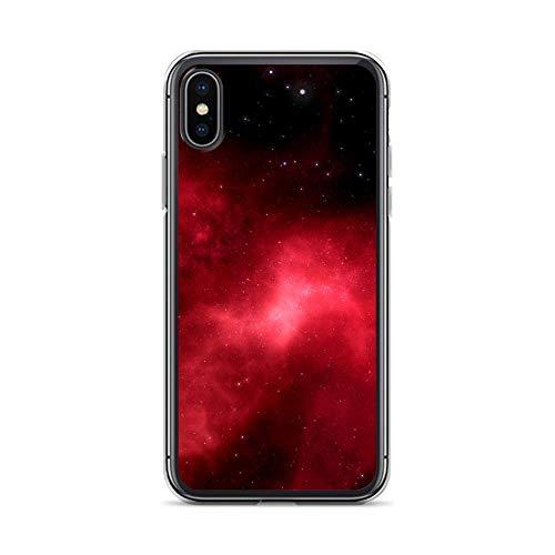 Sunnycase Handyhülle Saturn Jupiter Mars kompatibel für HTC M8 Nebel Rot Schutz Hülle Case Bumper transparent rund um Schutz Cartoon M4