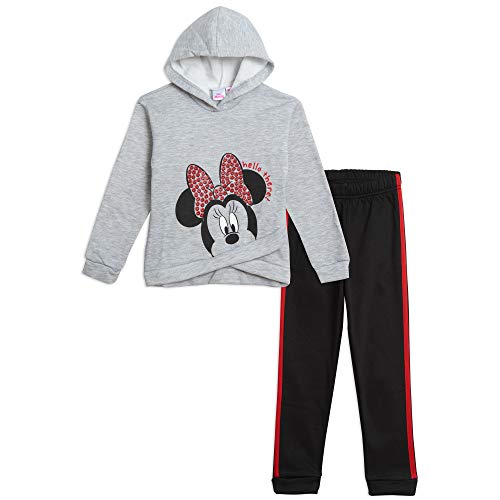 Disney Minnie Mouse Baby Girls Hoodie and Legging Set 18 Months Gray