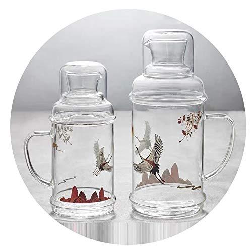 Botella De Agua Fría Multifuncional Almacenamiento De Agua En El Hogar Botella De Agua Fría Vieja Botella De Agua Fría Resistente A Altas Temperaturas Retro Gran Capacidad (individual)