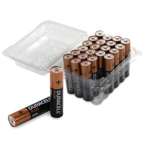 Duracell DUR019058 Plus Power Lot de 24 Piles AAA Unique 24er-Box