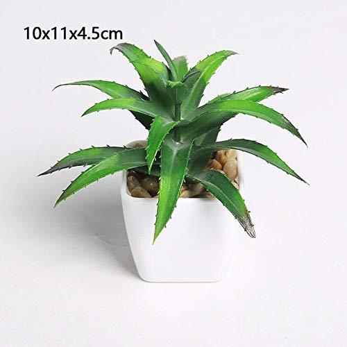 BRTTHYE Bonsai Artificiale plantenbak voor op het bureau, artistiek, met vaas, accessoires voor de Domestic Decoratie