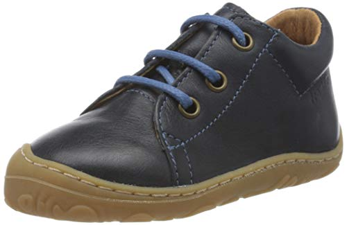 Froddo Jungen G2130191 Boys Shoe Brogues, Blau (Dark Blue I17), 21 EU