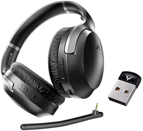 Avantree Aria Pro DG40S aptX HD Bluetooth 5 0 Active Noise Cancelling Headphones Headset with product image