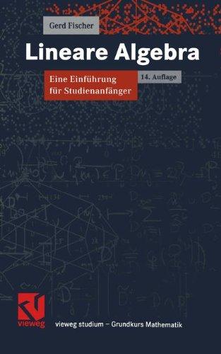 Lineare Algebra. Eine Einfuehrung fuer Studienanfaenger
