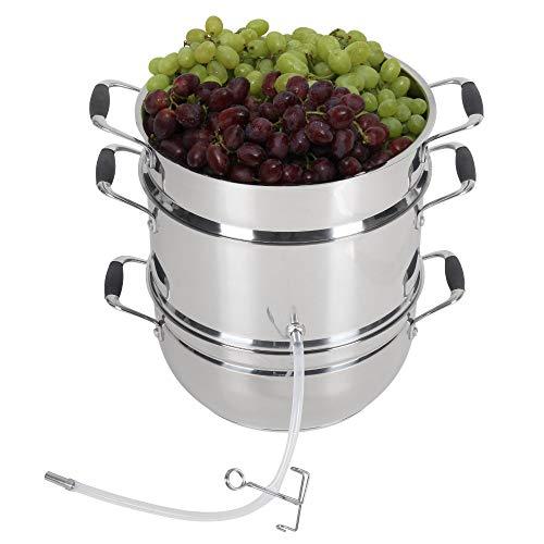 Deluxe stainless steel steam juicer by Kitchen Crop