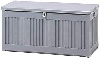 ゴミ箱 屋外 ダストボックス 収納ボックス 収納ベンチ 防水 大容量 大型 ふた付き ストッカー ごみ箱 おしゃれ momo 270L 最短 グレー