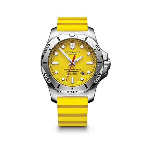 Victorinox Swiss Army Men's I.N.O.X. Stainless Steel Swiss-Quartz Diving Watch...